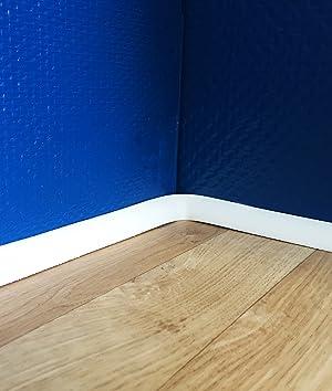 Gut gemocht Flexible Sockelleiste, biegbare Fußbodenleiste, Viertelstab Profil NG03