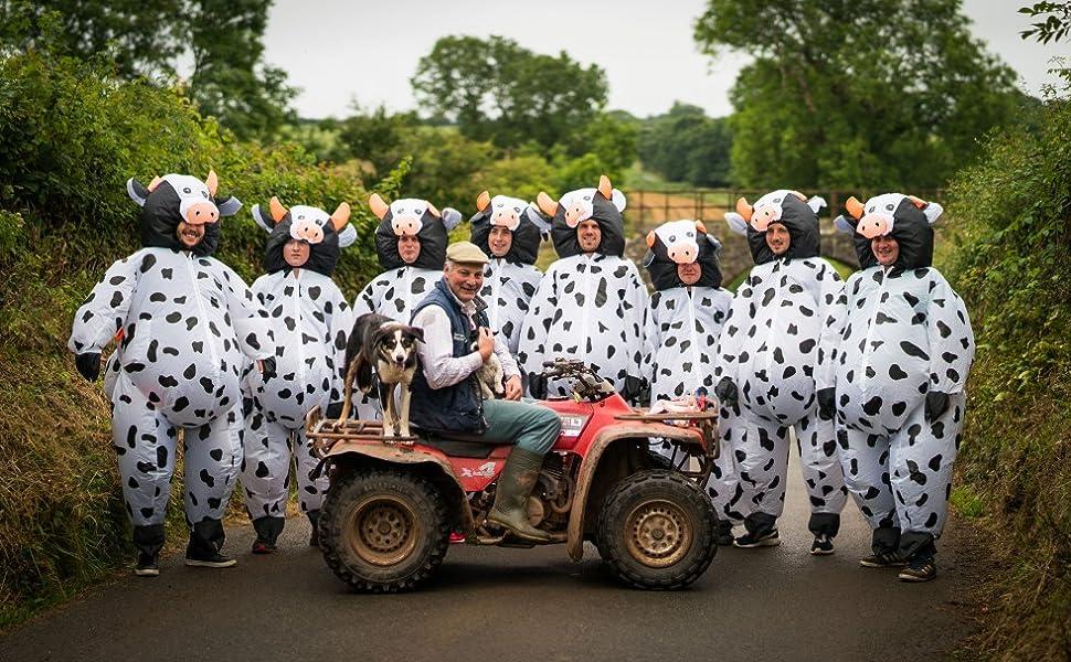 Aufblasbares Kuh Kostüm