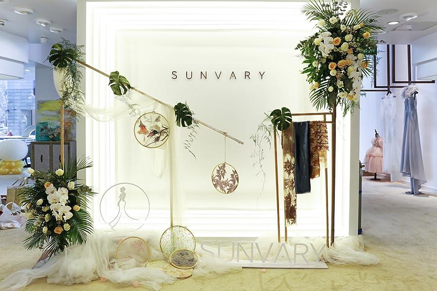 Sunvary Liebling Traegerlos Abendkleider Kurz Organza