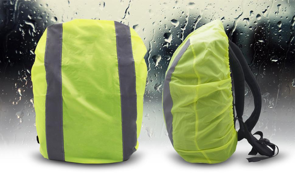 Rucksack Regenschutz Raincover Schulranzen Regenhülle haube Schutz für Backpack