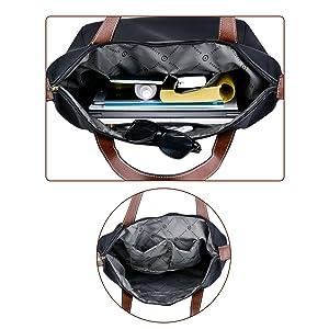Coofit Damen Handtasche Damen Shopper Tasche Elegant Umhängetaschen Schultertasche Damen Schwarz Schwarz B07FCD4ZJ3