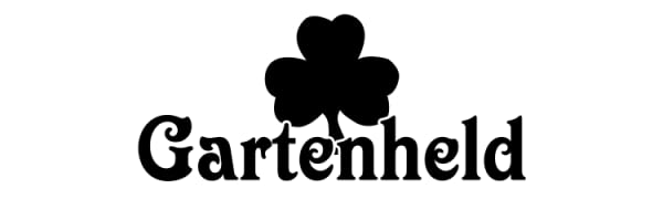 Gartenheld Greencare BerryKing Logo Garten Held Hero Klee Kleeblatt