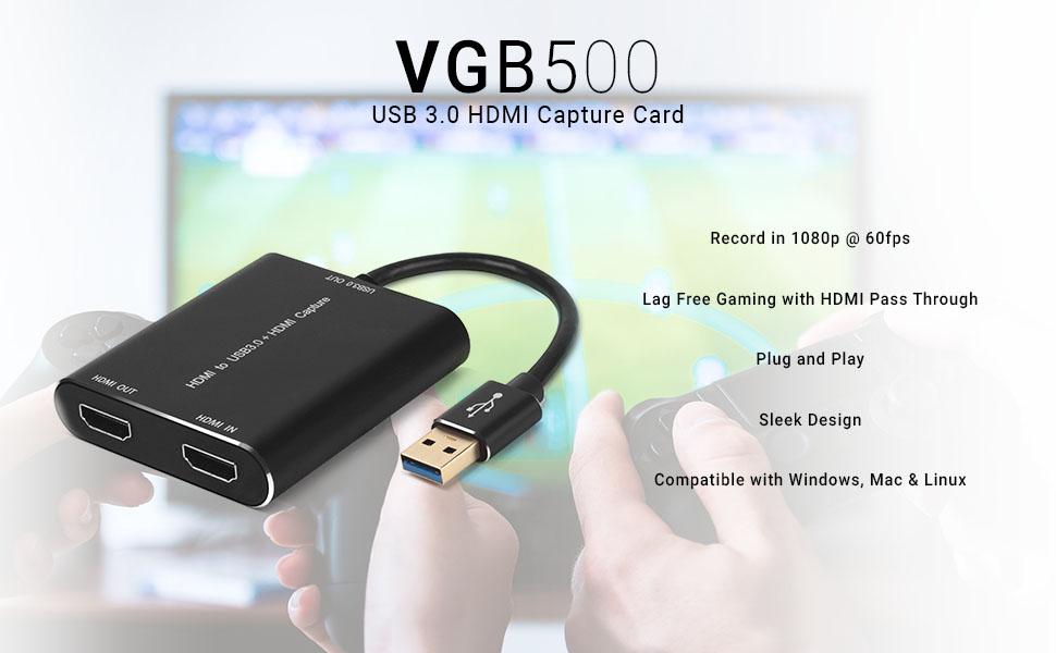 VGB500 Specs