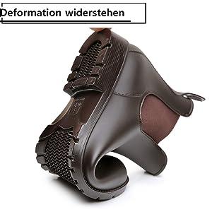 Deformation widerstehen Chelsea Boots