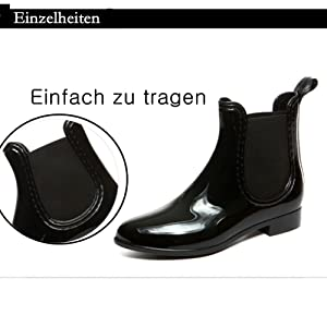 SAGUARO Einfach zu tragen Damen Kurzschaft Stiefel