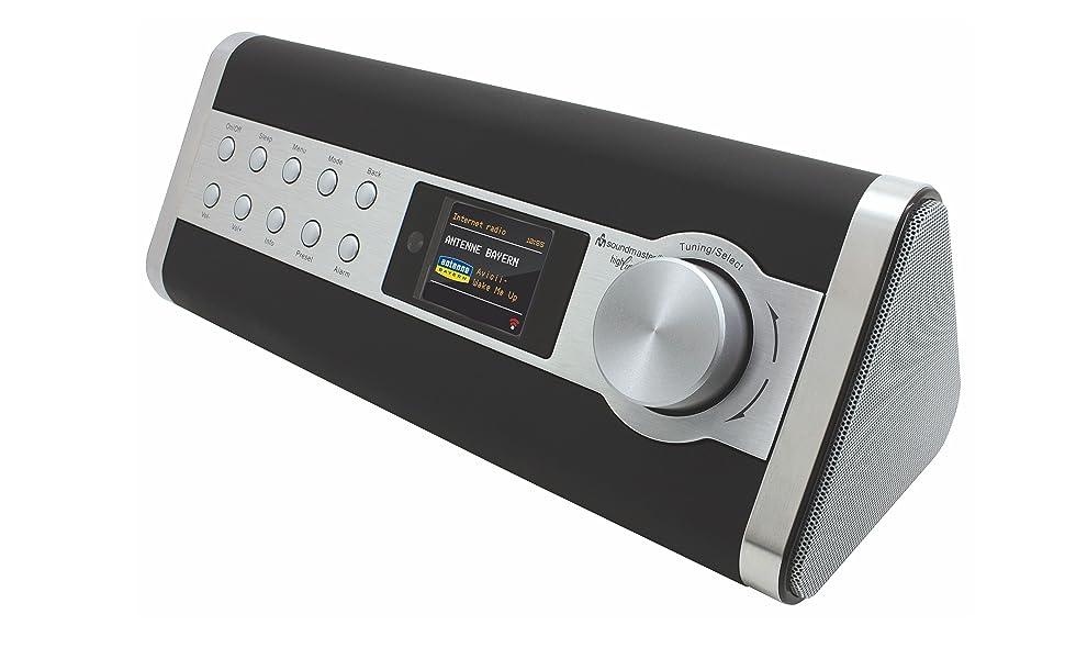 Soundmaster IR3000DAB Internetradio UKW DAB DAB+ Radio LAN WLAN WiFi Stream Podcast