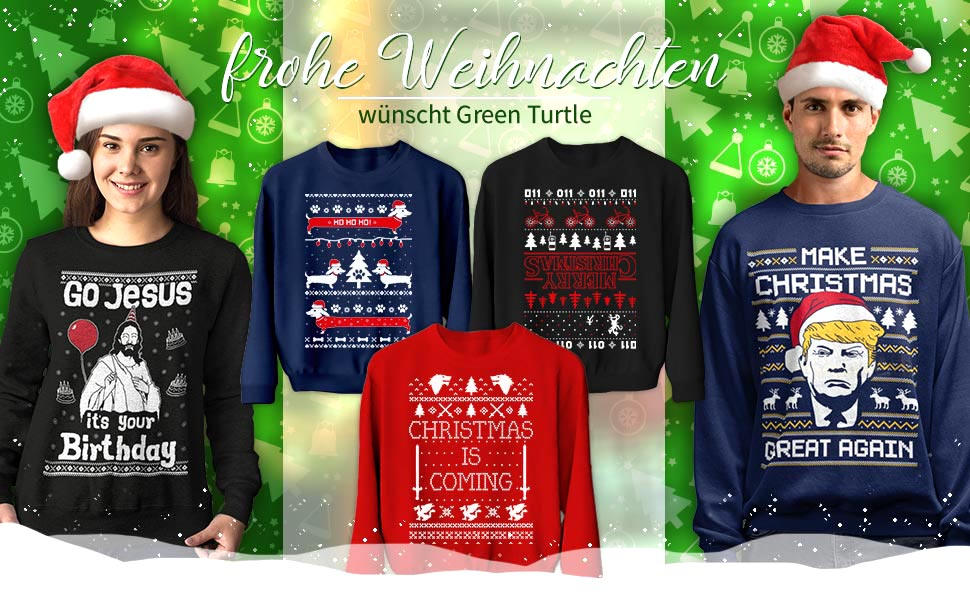 Green Turtle Xmas Welcome