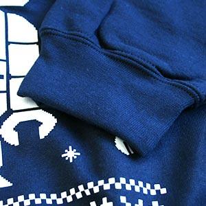 Textile Quality Herren Weihnachtspullover Sweater Close Up