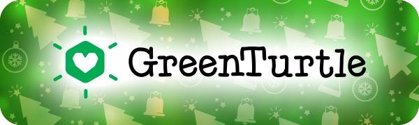 Green Turtle T-Shirts Xmas Logo