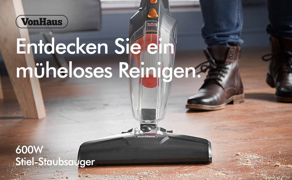 Amazon.de: VonHaus 2-in-1 Hand- und Standstaubsauger mit