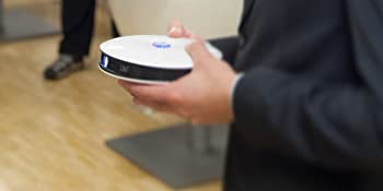 4k beamer rund handlich akku portabel 3D smart Fullhd projector uhd portabel klein business