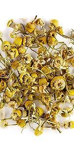 Kamillen blütentee aus biologischem Anbau