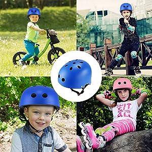Jugendliche Kinder f/ür Fahrrad Skateboard Scooter BMX LANOVAGEAR Skaterhelm Fahrradhelm Kinderhelm Radhelm Sporthelm CE-Zertifizierung f/ür Erwachsene