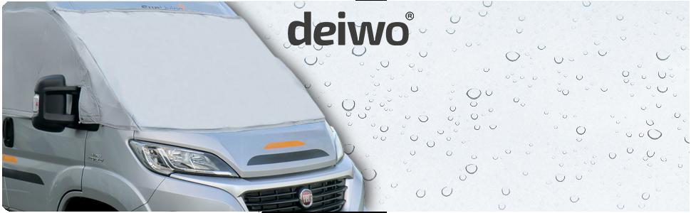 Deiwo Bugschutzplane Für Fiat Ducato Ab 2014 Frontschutzplane Thermomatte Auto