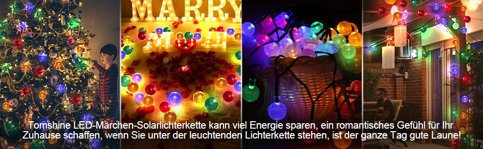 Hochzeit Tomshine Solar Lichterkette Aussen Mit 30 Led Kugel Fur Outdoor Wasserdicht 5 6 Meter Solarlichterkette Fur Garten Solar Lichterkette Bunt Fur Aussen Party Weihnachten Sidra Hospital
