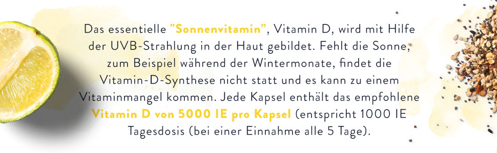 Vitamin D3, 5000 IE, Aava Labs, aavalabs,