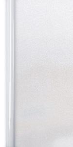 Homein Milchglasfolie Fensterfolie Milchglas Duschkabinen Blickdicht