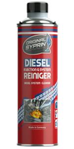 Syprin benzine diesel additiefreiniger additieven injectoren injectoren motorspoeling