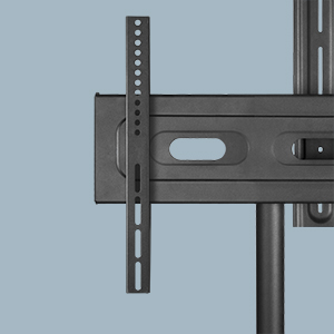 Robust steel frame and universal VESA bracket
