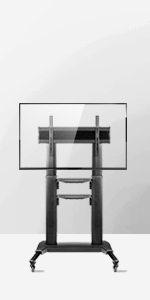 TS2771 TV stand with castors for 40 - 75