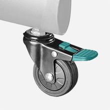 Beweglichen Räder