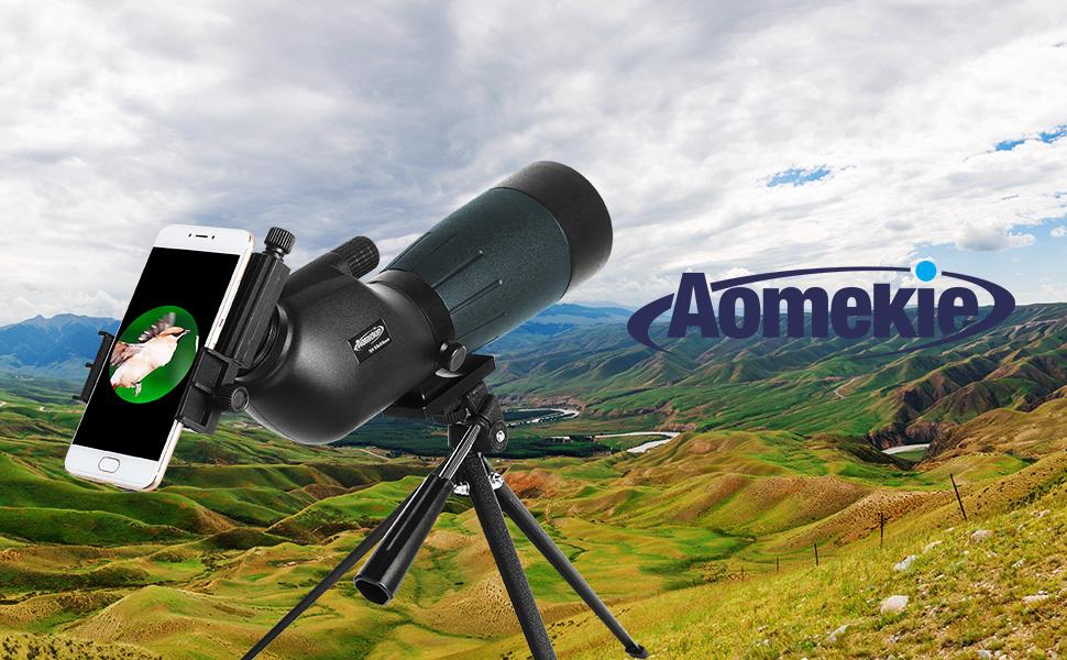 Aomekie spektive für sportschützen jagd und amazon kamera