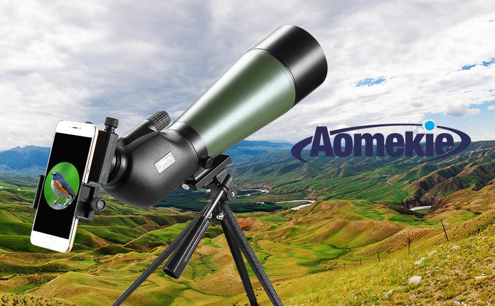 Aomekie spektiv sportschützen jagd amazon kamera