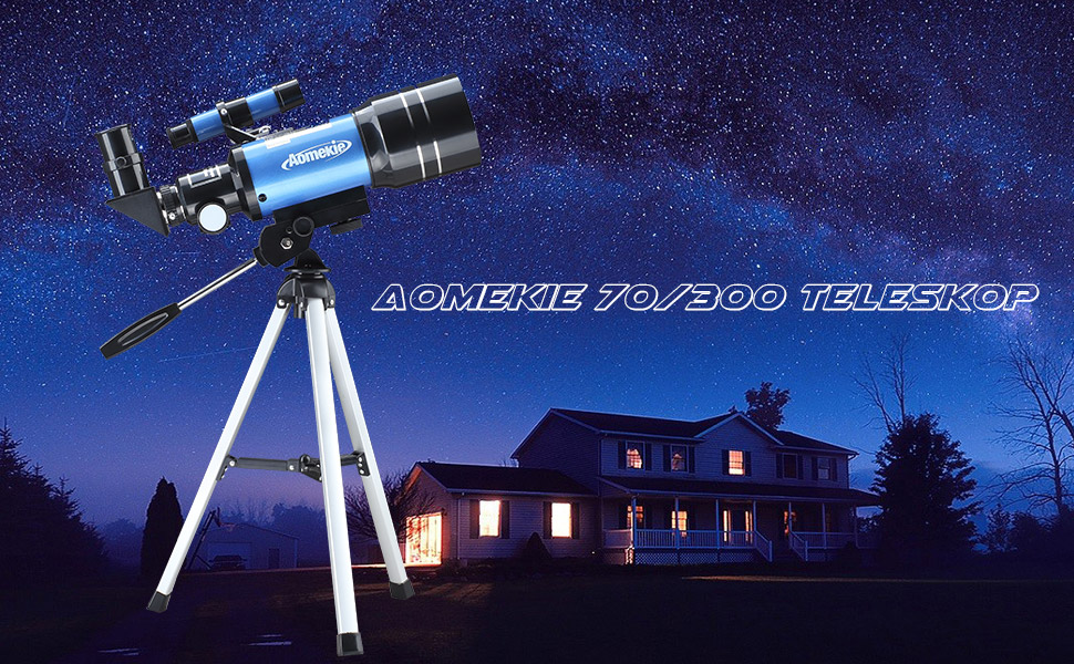 Aomekie astronomisches teleskop kinder einsteiger amazon