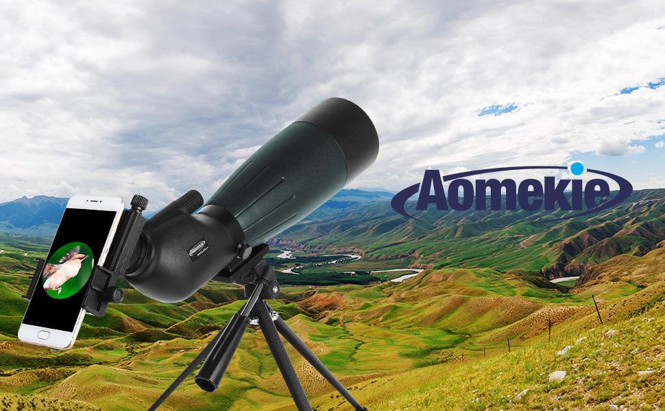 Aomekie 20 60x80 spektiv sportschützen jagd mit: amazon.de: kamera