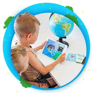 interaktives spielzeug kinderglobus interactive globe