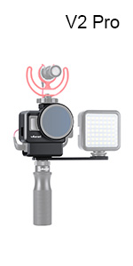 Ulanzi L1 Pro Vielseitiges Mini Led Licht Wasserdichte Elektronik