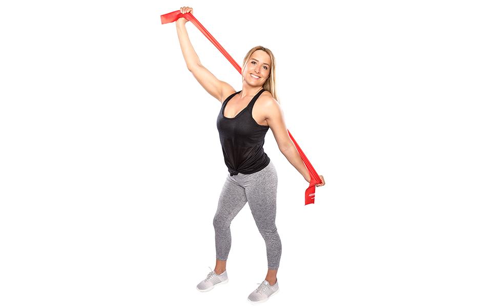 Dittmann BodyBand auf Rolle Trainingsband Fitnessbänder Gymnastikband Expander