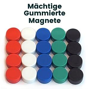 Pinnwand Tafel Design Kronkorken Kühlschrankmagnete 24 Magnete Magnet f
