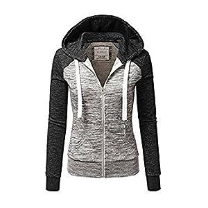 sneakers for cheap 906db b59dd Newbestyle Jacke Damen Sweatjacke Hoodie Sweatshirtjacke Pullover Oberteile  Kapuzenpullover