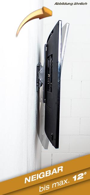 ricoo wandhalterung tv neigbar fernseher halterung elektronik. Black Bedroom Furniture Sets. Home Design Ideas