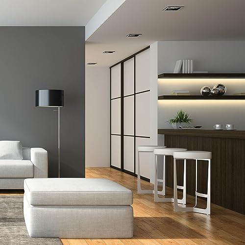 SEBSON LED Lichtleiste warmweiß, LED Leiste 30 cm, LED Unterbauleuchte 6er  Set