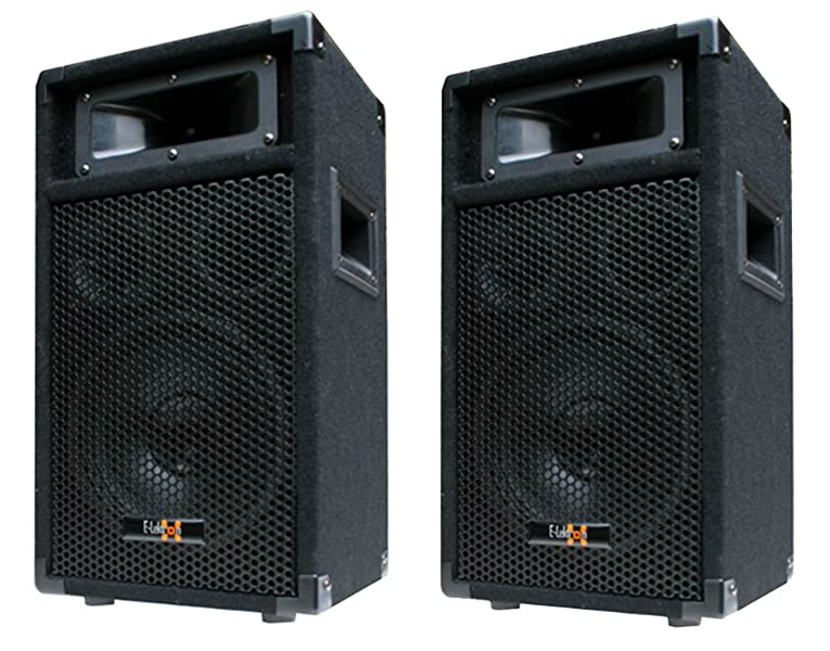 2x 400w dj party lautsprecher boxen paar 8 bass amazon. Black Bedroom Furniture Sets. Home Design Ideas
