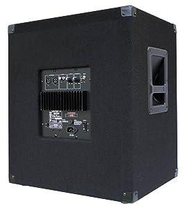E-Lektron SUB-P38 2x 600W DJ PA Subwoofer Boxen Paar 15 Passiv Bass Lautsprecher
