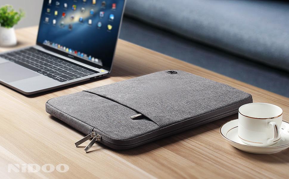 Nidoo 17 Zoll Wasserdicht Laptop Sleeve Case Notebook Computer Zubehör