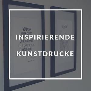Classic by Casa Chic - Echtholz Bilderrahmen A4 - Weiß