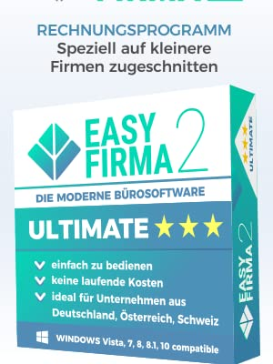 Easyfirma 2 Ultimate Bürosoftware Rechnungsprogramm Für Mahnungen