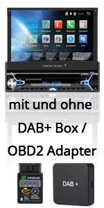 Tristan Auron 1 2 Din Doppel Din Ein Din Autoradio 8.1 Android Octa Core Prozessor FastBoot