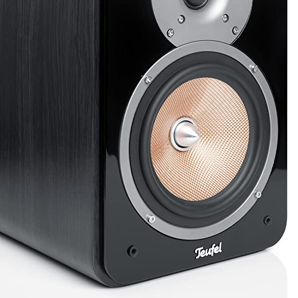 teufel ultima 20 mk2 stereo regal lautsprecher schwarz audio hifi. Black Bedroom Furniture Sets. Home Design Ideas