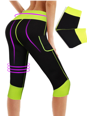 Sporthose Hohe Taille Neoprene Training Abnehmen Thermal