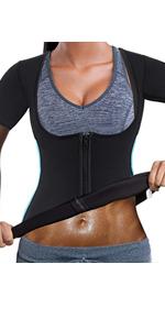 Neopren Waist Trainer Body Shaper Bauchweggürtel Saunagürtel Slim nach Geburt DE