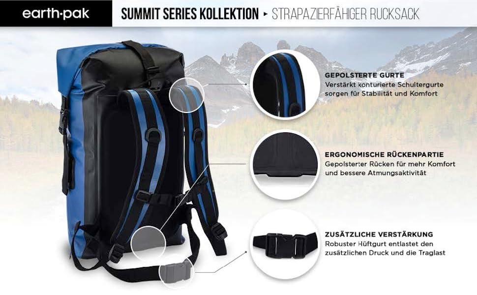 earth pak, waterproof bag, dry bags