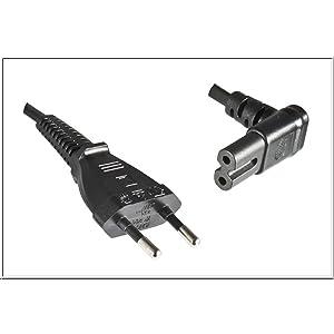 Dinic Stromkabel Netzkabel Mit Eurostecker Auf C7 90 Elektronik