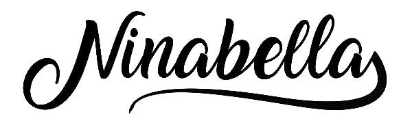 Logo Ninabella Haarbürste zur Haar entwirrung für Damen Kinder Frauen Herren Männer sanft schonend