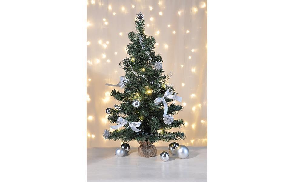 Bambelaa! Künstlicher Weihnachtsbaum Christbaum 75cm komplett ...
