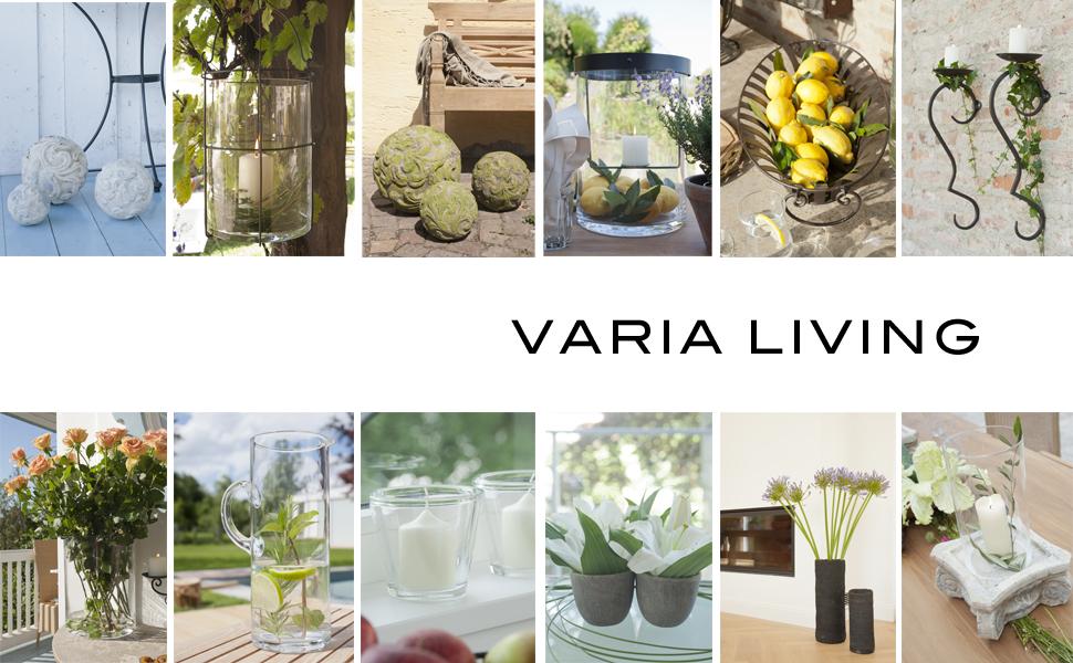 varia living glaszylinder glasrohr ohne boden offen f r. Black Bedroom Furniture Sets. Home Design Ideas
